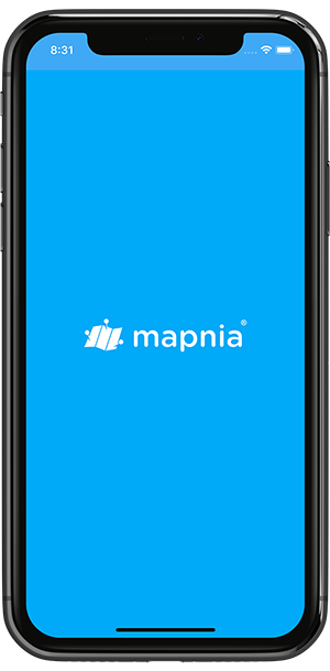 Mapnia Splashscreen